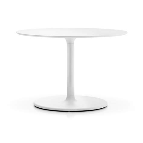 table cuisine ronde pied central table de bar ronde stylus pedrali