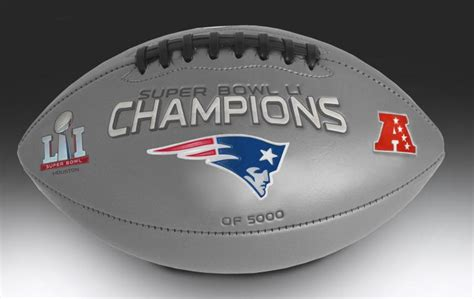 Patriots Super Bowl Li Champions Football