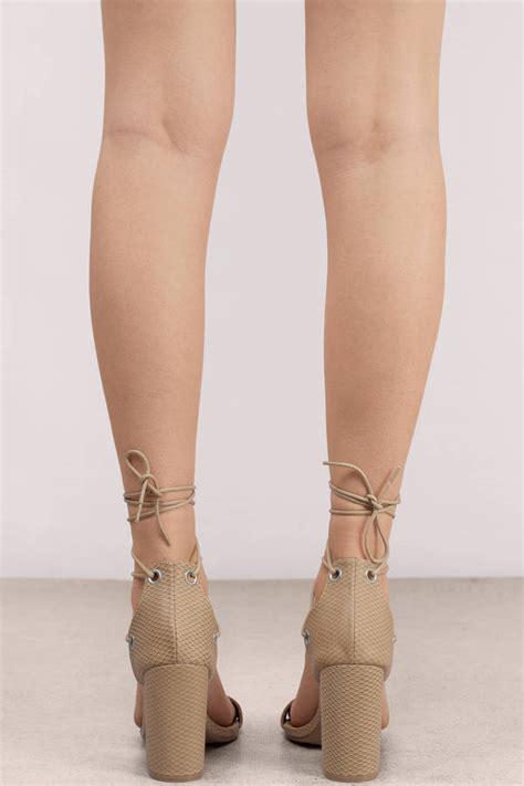 taupe color heels taupe heels tobi