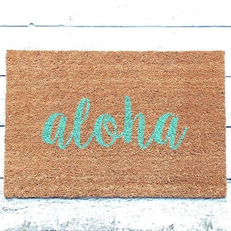 hawaiian doormats best 25 welcome mats ideas on doormats cool