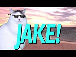 HAPPY BIRTHDAY JAKE! - EPIC CAT Happy Birthday Song - YouTube