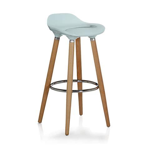 but tabourets de bar tabouret de bar bleu avec pieds en h 234 tre massif jade tabouret consoles tables chaises