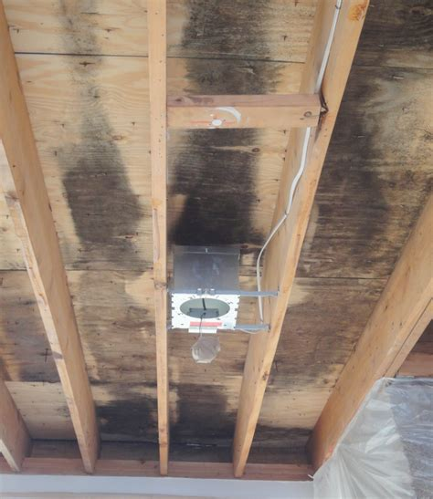 cathedral ceilings mold  moisture problems