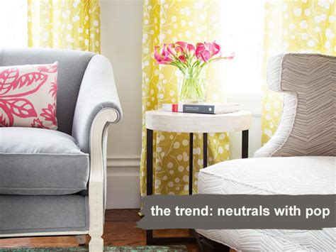 Trendy Home Decorating Ideas: 6 Spring Decorating Trends, Translated