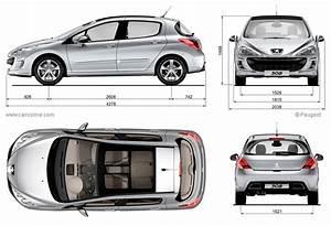 Dimensions 308 Peugeot : peugeot 308 1 2007 2011 fiche technique dimensions ~ Medecine-chirurgie-esthetiques.com Avis de Voitures