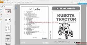 Kubota Tractor B2630 U00b7b3030 U00b7b3000 Operators Manual