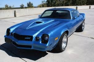 1978 Camaro Z28 Blue
