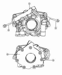 Dodge Challenger Pump  Engine Oil  Mds  Oiling  Hemi