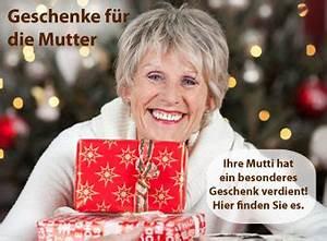 Weihnachtsgeschenk Für Mutter : weihnachtsgeschenke f r mama mutti ~ Frokenaadalensverden.com Haus und Dekorationen