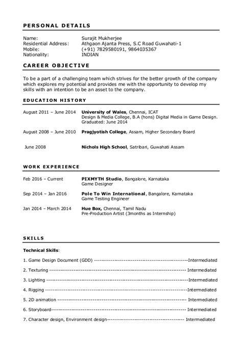 L T Resume Upload by Surajit Resume For Designer