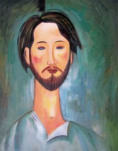 Image Gallery modern oil portraits