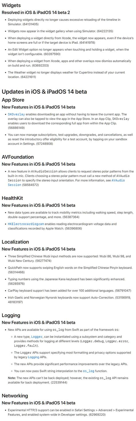 iOS 14 Beta 4 Release Notes, Changes, New Features And ...