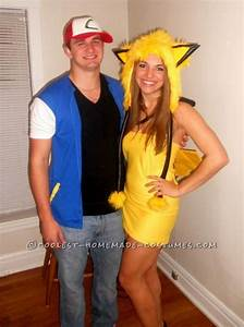 Easy Ash and Pikachu Couple Costume   Sexy, Nice and ...