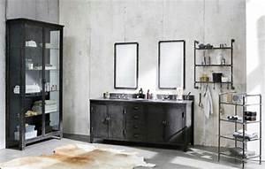 Meuble Salle De Bain Style Industriel : mobilier salle de bains des exemples et quelques conseils ~ Melissatoandfro.com Idées de Décoration