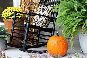 Fall On The Porch - House of Hawthornes