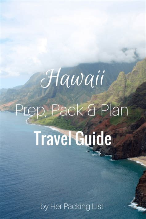 hawaii tourism bureau hawaii travel and packing guide packing list