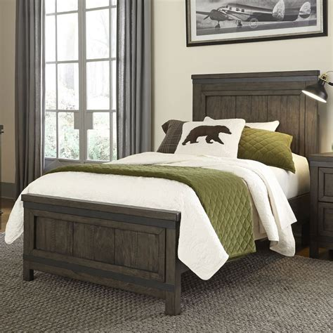 I'm pleased with the bed. Industrial Rustic Gray Twin Bed - Thornwood Hills | RC ...