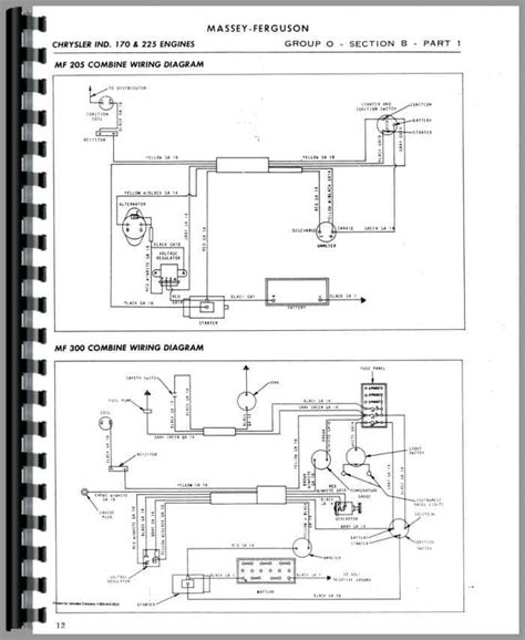 massey harris all continental g176 gb176 g206 service manual