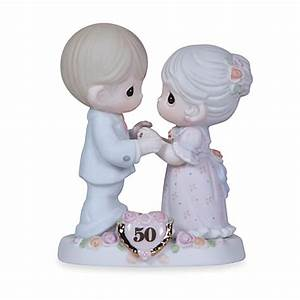 precious momentsr we share a love forever young 50th With 50th wedding anniversary figurines
