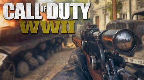call  duty ww war mode gameplay ps pro p  fps