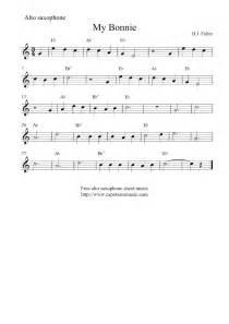 Easy Alto Saxophone Sheet Music Free