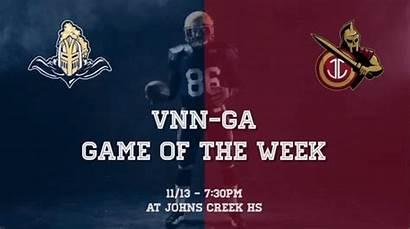 Varsity Vnn Ga Week Nov Football Boys