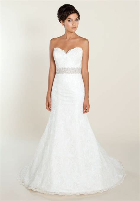 aloncon lace fit and flare gown with swarovski beaded