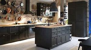 Cuisine Industrielle Ikea : les bonnes r solutions n 2 je changerai de cuisine ~ Dode.kayakingforconservation.com Idées de Décoration