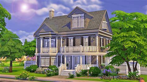 sims  simple house design modern design