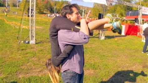 best way to carry your wife upside down video abc news