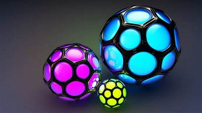 3d Balls Wallpapers Colorful Ball Abstract Background
