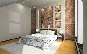 Bedroom wall tiles designs : Adding an exposed brick wall to your home decorations tree