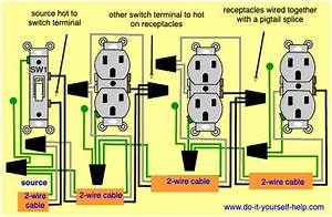 From A Outlet Diagram Wiring For Switches