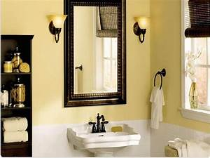 Bathroom paint colors for a small bathroom design best for Colors to paint a small bathroom