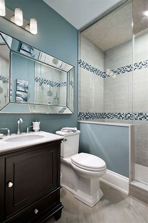 blue grey bathroom tiles ideas  pictures