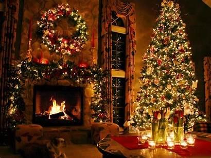 Christmas Animated Daydreaming Merry камин перейти Winter