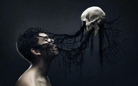 Digital Skull Wallpaper by Digital Skull Spooky
