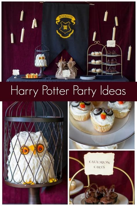 Vintage Books For Decoration by 29 Creative Harry Potter Party Ideas Spaceships And