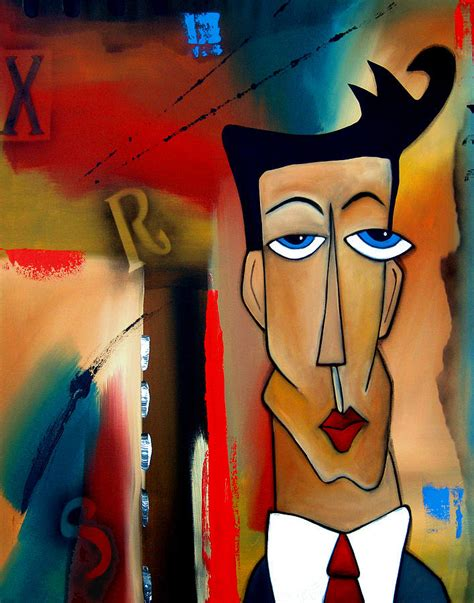 merger abstract art  fidostudio painting  tom fedro