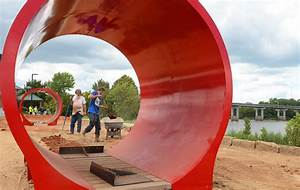 Riverfront Skate and Bike Park nearing completion; grand ...