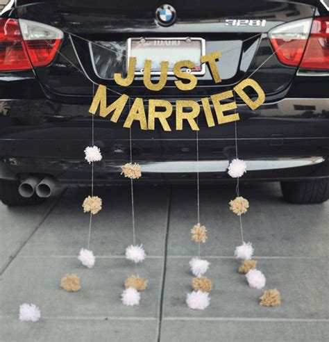 the 25 best ideas about just married car on just married just married sign and