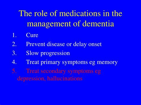 Ppt Dementia Drugs Mainstream And Alternative Medicines
