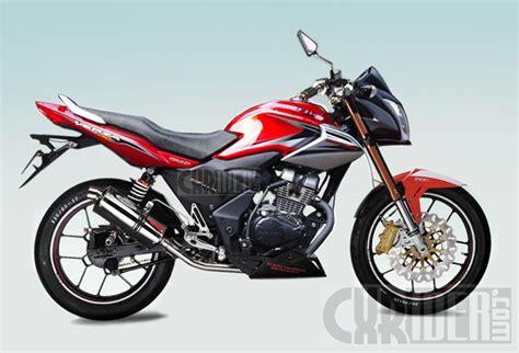 Verza Modif by Konsep Modifikasi Honda Verza 150 Cxrider