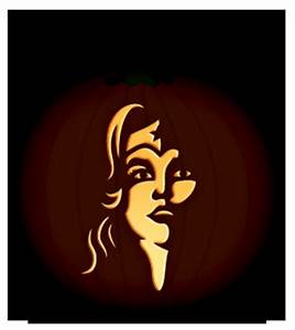 Wonder Woman Pumpkin Stencil | Comic Book and Cartoon ...