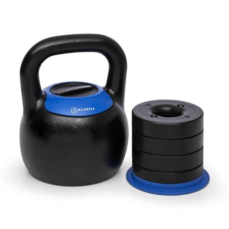 kettlebell adjustable klarfit kg kettleworx training ball weight dvd klar musculation appareil cast verstellbare manual essentials kettlebells strength dumbbell