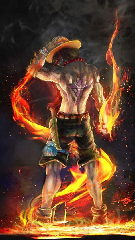 fire fist ace  artwork sony xperia xxzz