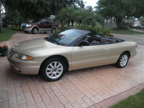 Buy Used 1998 Chrysler Sebring Jxi Convertible 2-door 2.5l