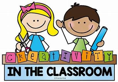 Classroom Creativity Clip Creative Clipart Primary Borders