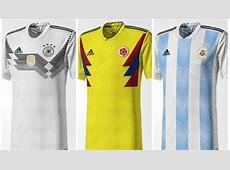 Conoce los jersey filtrados para el Mundial de Rusia 2018