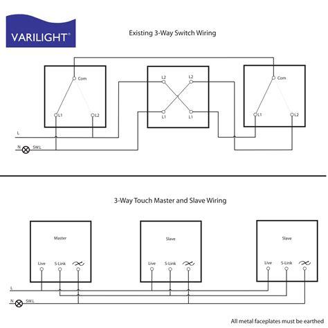 varilight wiring diagrams